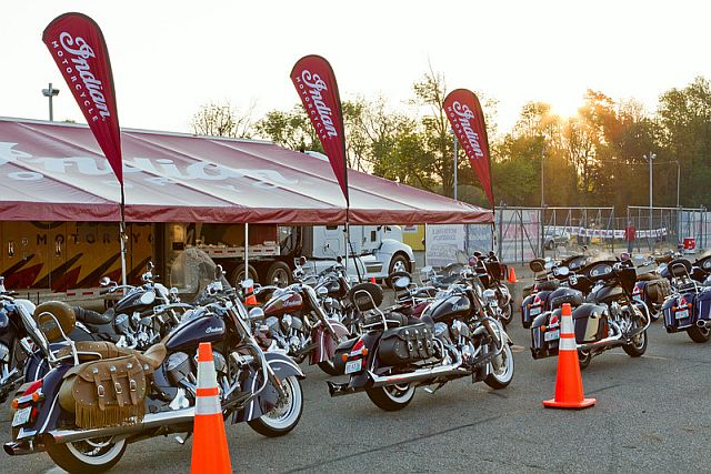 2014 AMA Vintage Motorcycle Days, featuring Indian Motorcycle