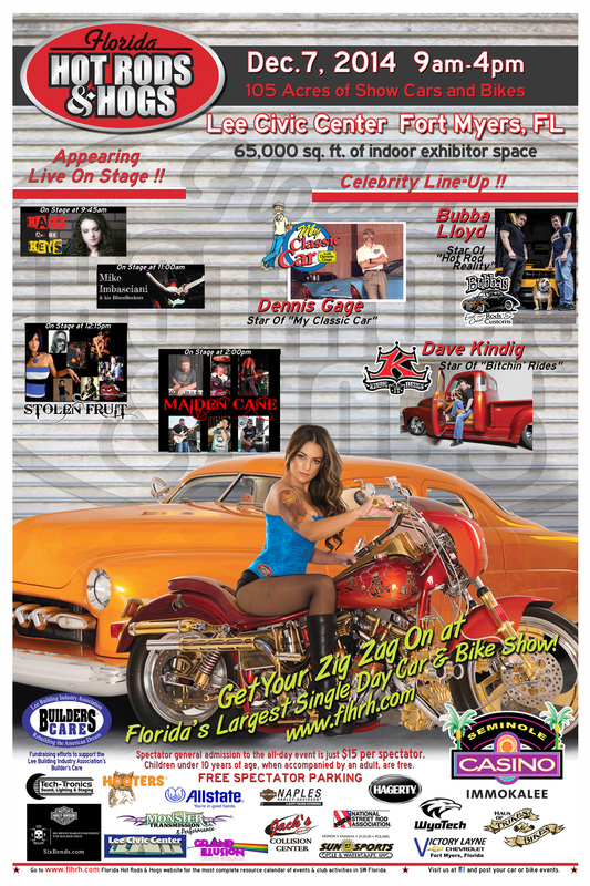 Florida Hot Rods & Hogs Car & Bike Show 2014
