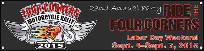 Four Corners Motorcycle Rally 2015