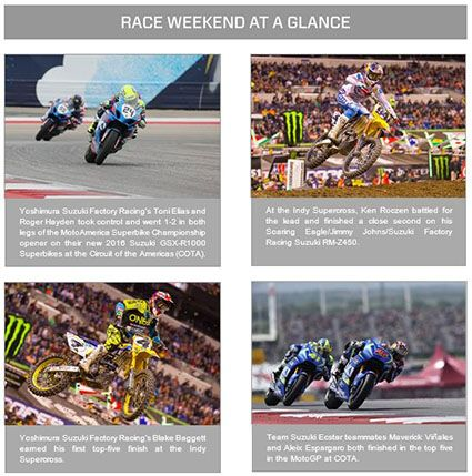 Suzuki Superbike Weekend